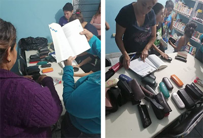 People of El Maguey receive eye glasses donations